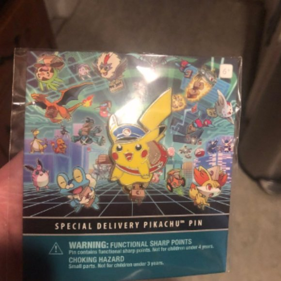 Special Delivery Pikachu Pin - Sealed -